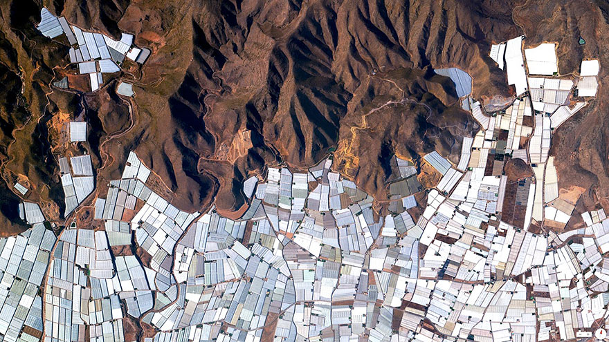 Greenhouses-Almeria-Spain