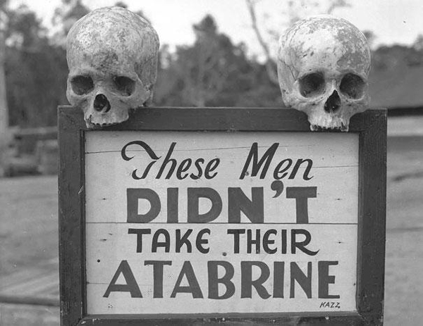 15-Advertisement-for-Atabrine-anti-malaria-drug-in-Papua-New-Guinea-during-WWII