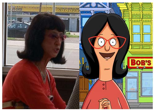 Cartoon Characters Real Life : These people may be real life cartoon characters time for